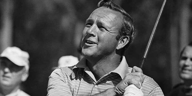 Imagine yourself as Arnold Palmer | Point A Golf